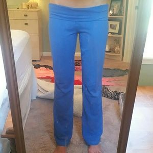 Med Mossimo foldover waisted yoga stretch pants